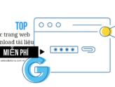 Top các trang web download tài liệu miễn phí