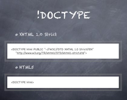 Doctype trong HTML là gì? Khác nhau giữa HTML và XHTML là gì?